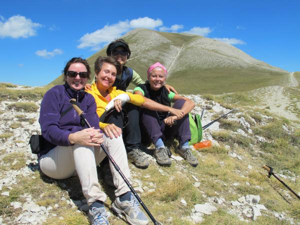 Hiking to Monte Vettore Aug 31st 2011