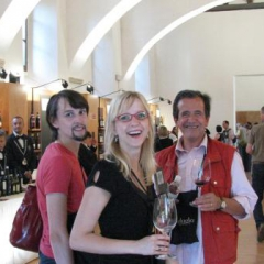 Tasting at sagrantino Wine Festival 2010