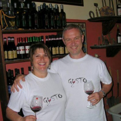 Mark and Giselle Stafford Gusto Wine Tours