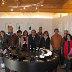 Visting Cantina Novelli in Montefalco Oct 2012