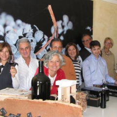 Wine tasting at Tabarrini Montefalco Oct 2012