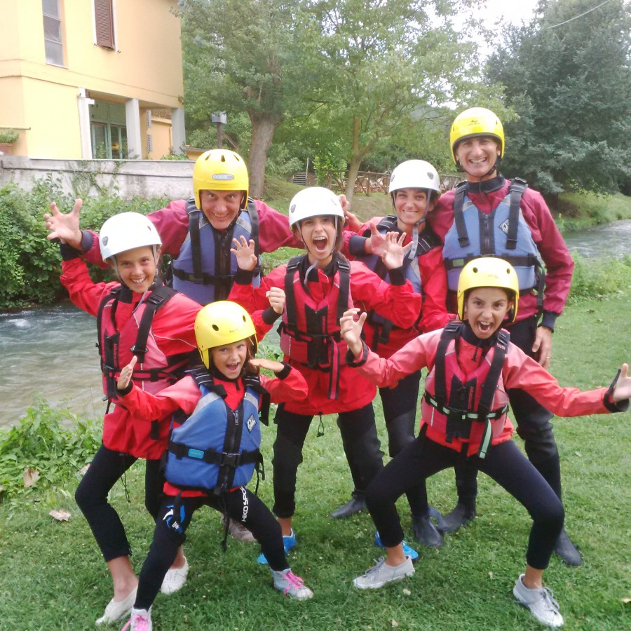 Rafting – Rivers Nera and Corno and Marmore Falls