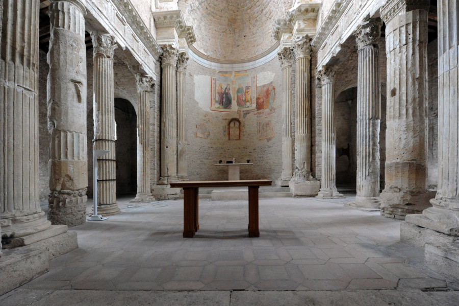 Spoleto – Basilica of St. Salvatore